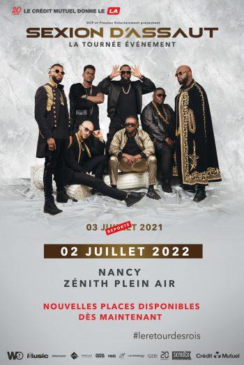 Sexion d'Assaut tournée concert le retour des rois zénith du grand nancy